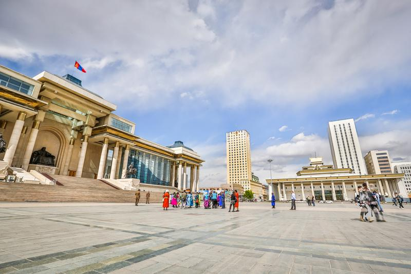 View From Sukhbaatar Square